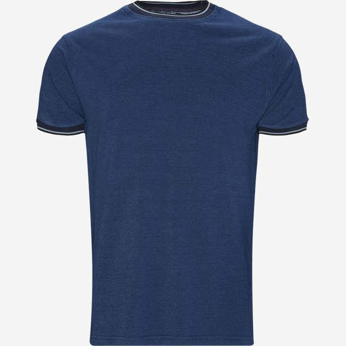 Croix Crewneck T-shirt - T-shirts - Regular - Denim